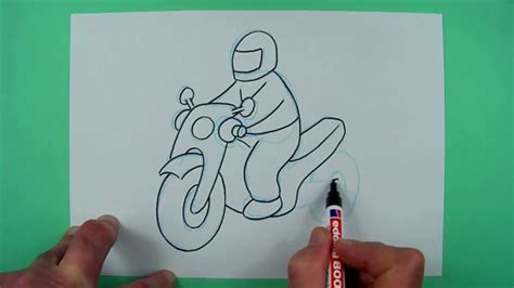 Youtube Motorrad F R Kinder by Wie Zeichnet Man Ein Einfaches Motorrad Zeichnen F 252 R
