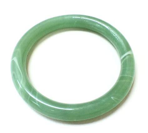 Jade Bangle beautiful green venetian jade bangle bracelet ebay