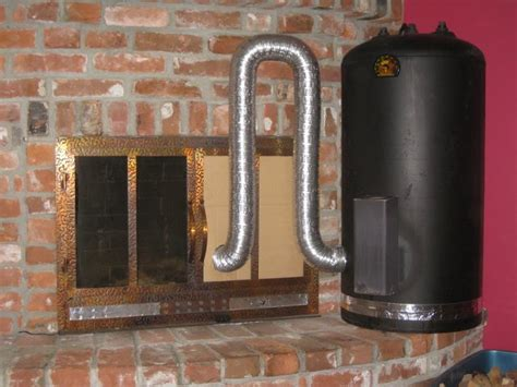 Rocket Stove Fireplace by Hines Farm Build A Rocket Stove For Home Heating