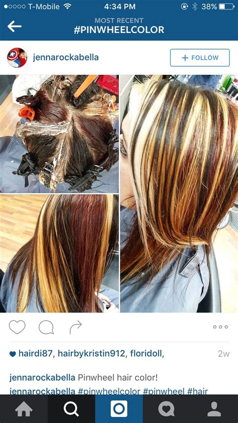 pattern hair color hair color pinwheel pattern 1000 ideas about hair color