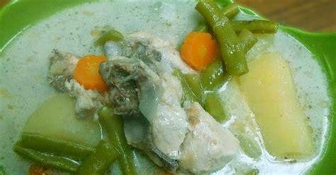 cara membuat opor ayam putih resep opor ayam sayur kuah putih resep aneka masakan