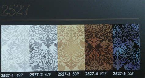 jual wallpaper motif bunga tipe 2527 harga murah jakarta