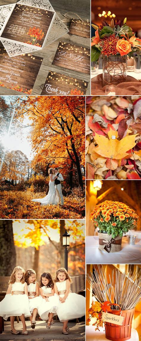 beautiful fall wedding ideas b 28 images 25 best