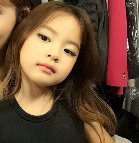 Blackpink Young | this little girl looks exactly like blackpink s jennie
