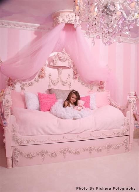 princes bed pink princess room bedroom decorating ideas for the