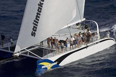 catamaran boat ride hawaii best oahu cruises and boat tours