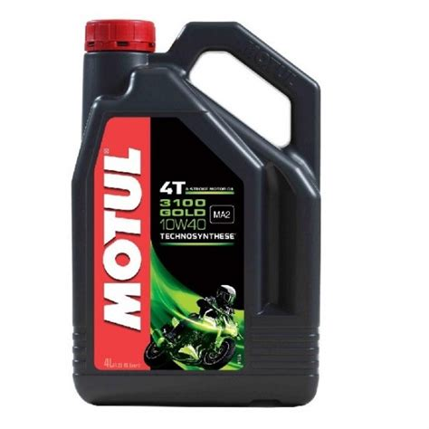 Motul 3100 Gold 4t 10w40 1 Litre Technosynthese 100 Originale motul 3100 gold 10w40 semi synthetic engine 4l roe motorcycle and mower