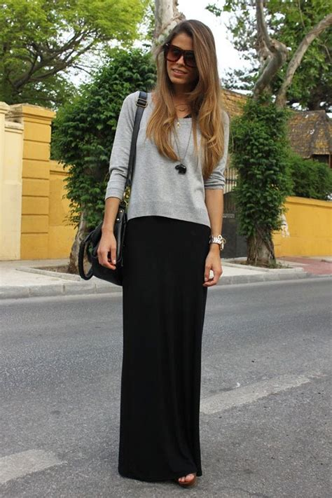 how to wear a maxi skirt over 50 20 style tips on how to wear maxi skirts in the winter