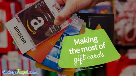 Making Gift Cards - making the most of gift cards