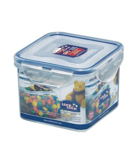 Promo Lock N Lock Container Tempat Makan Classic Gift Set lock lock classic polypropylene pp square food container buy at best price in india