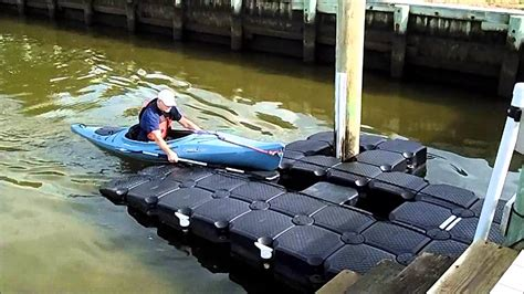 how to build a boat roller r wounded warrior docks kayak on kayak dock youtube
