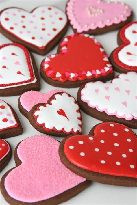 cookies valentines chocolate rolled cookies recipe glorious treats
