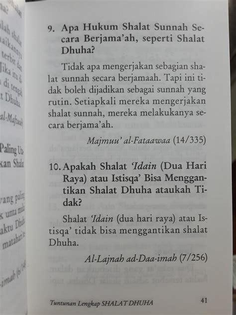 Tuntunan Shalat Lengkap Anak buku saku tuntunan lengkap shalat dhuha toko muslim title