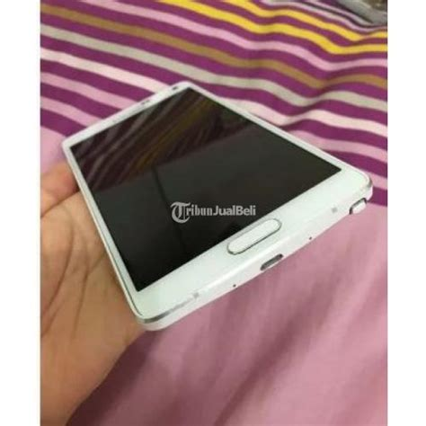 Merk Hp Samsung Note handphone android samsung galaxy note 4 32gb second harga