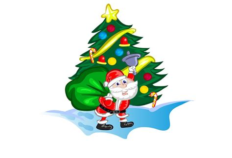 santacruz with christmas tree animated freebies 25 best hi quality graphic vectors 2015
