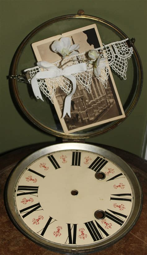 diy steunk home decor clock catch all