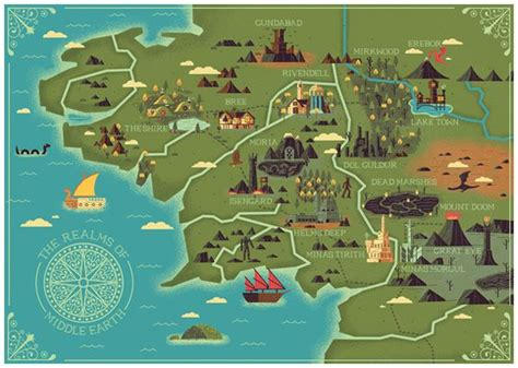 Midgard And Middle Earth 25 best ideas about map of middle earth on