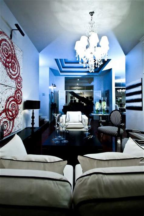 black white blue living room white and black sofa cottage living room monochrome inc interior design