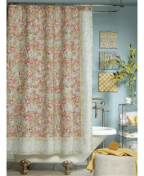 Lacoste Bath Shower Curtain jessica simpson marina floral print shower curtain