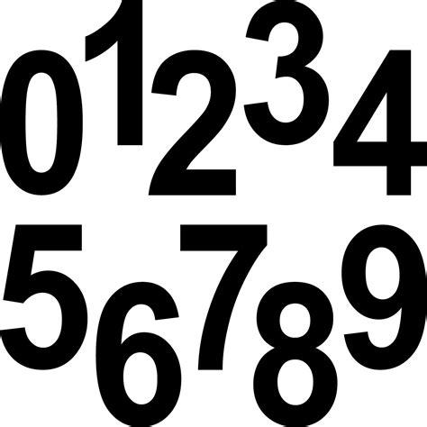 Aufkleber Zahlen Hausnummer by 20 Ziffern 12cm Schwarz Aufkleber Ziffer Zahl