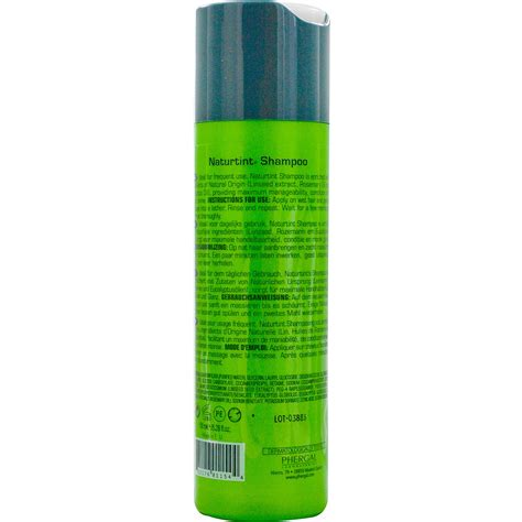 28 wash hair color naturtint shoo color treated hair 5 28 fl