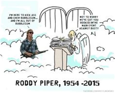 Roddy Piper Meme - 1000 images about wrestling on pinterest candice lerae