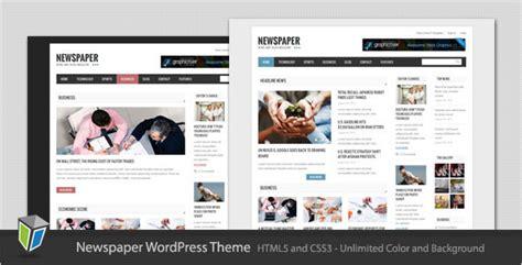 newspaper theme for blogger plantillas wordpress newspaper blog and magazine