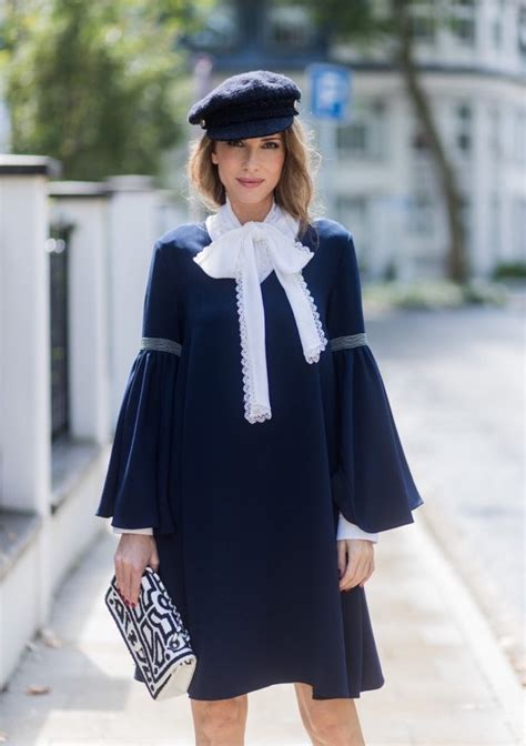 oversized sleeves tie neck blouse blog alexandra lapp