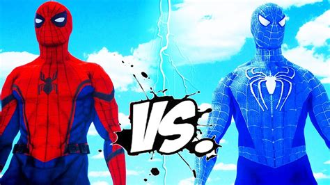libro spider man blue hc amazing the amazing blue spiderman vs spider man civil war viyoutube