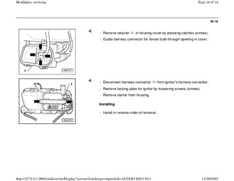 audi a4 b5 headlight upgrade wiring diagrams wiring diagram