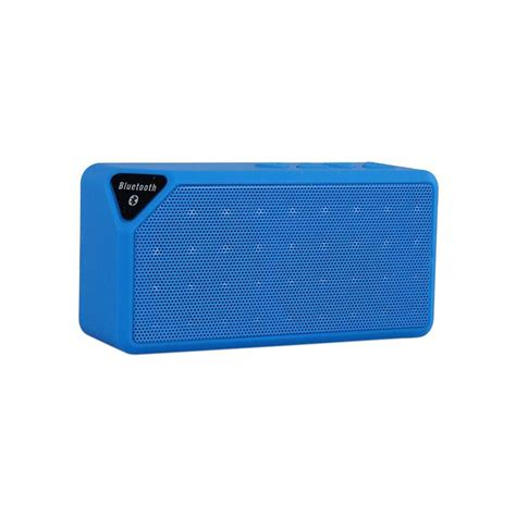 Speaker Bluetooth Icuans ipm icon bluetooth speaker blue ipmicon bl the home depot