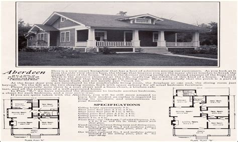 Craftsman Bungalow House Plans by 1922 Craftsman Bungalow Houses 1920s Craftsman Bungalow
