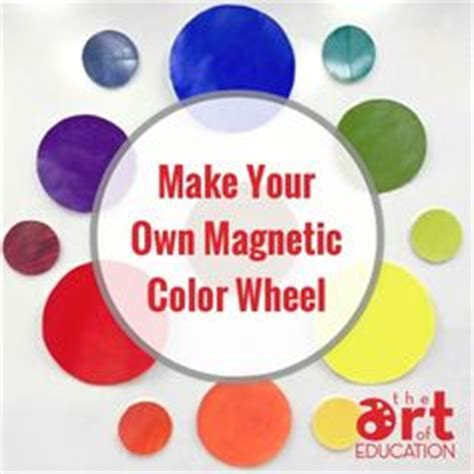 make your own magnetic color wheel