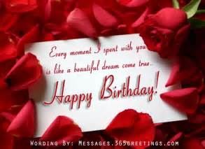 romantic birthday messages 365greetings com