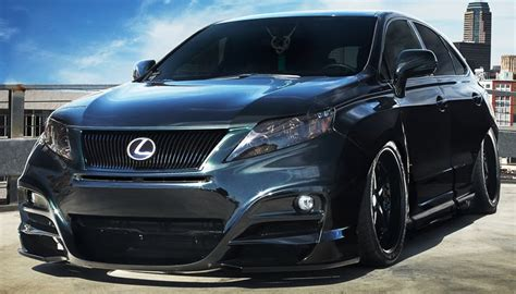 pimped lexus rx 350 out showkase a custom car sport truck suv