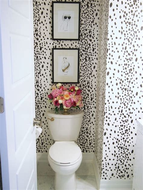 wallpaper for powder room 10 spotted dalmatian dot prints for your interior house