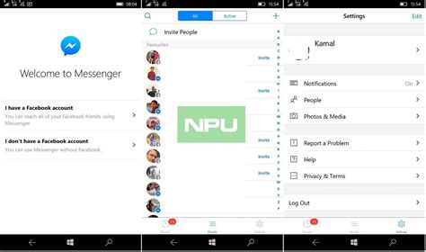 install messenger for mobile how to messenger beta on windows 10 mobile