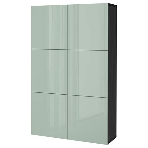 besta storage combination with doors best 197 storage combination with doors black brown selsviken