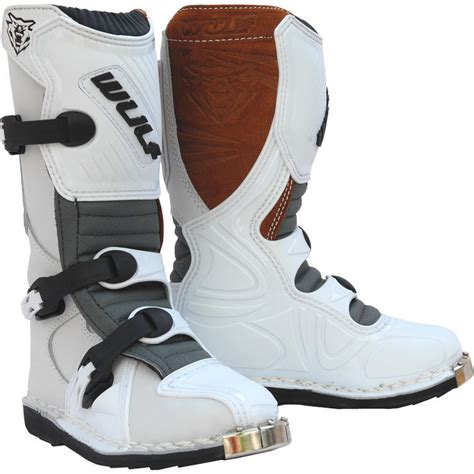 wulf motocross boots wulf cub la junior motocross boots boots ghostbikes com