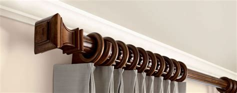 Wood Drapery Rods And Hardware wooden curtain rod brackets williams drapery kirsch hardware and wooden curtain rods