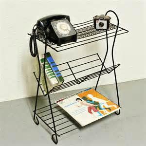 Small Magazine Rack For Bathroom - vintage stand telephone stand magazine stand magazine