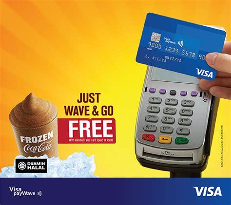 Visa Gift Card Minimum - free mcdonald s frozen coke when you pay with visa cards minimum spend rm10 until 30
