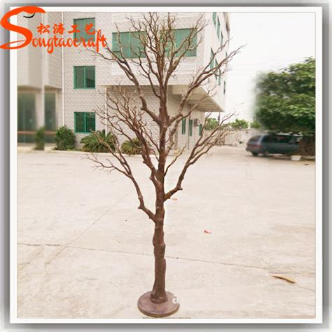 wholesale decorative artificial dry plastic tree branches