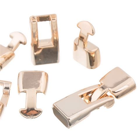 2016 nova 10 conjuntos Rose Gold CCB Plastic alternar fechos para colar pulseira DIY us 120