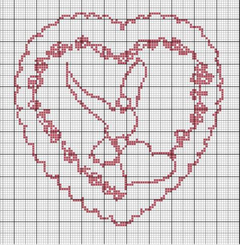 Grille Tricot Coeur by Cross Stitch Point De Croix Coeur Wedding Jpg Besoin