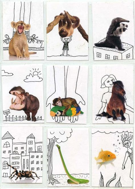 animal cards template clear trading card template projects for bloglovin