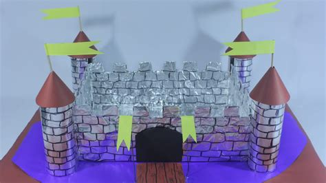 Make A Paper Castle - how to build a castle out of cardboard boxes 9 steps