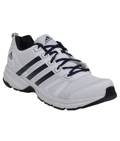 adidas white running sport shoes price in india buy
