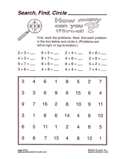 Www Worksheets by Math Worksheet Ap22
