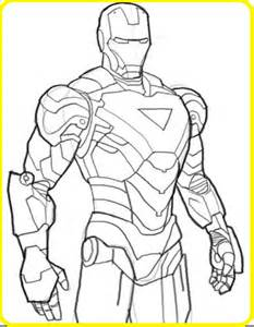 imagenes dibujar iron man descargar imagenes dibujar faciles